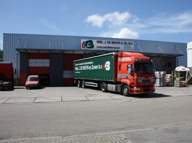 De Bruyn Koeriers.Warehouse Nieuwkoop